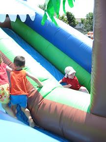 BigE big inflated slide