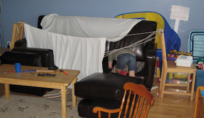 BigE and his fort