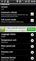 Screenshot of Weather Online Free