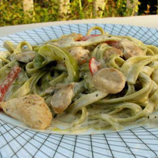 Light and Hearty Cajun Chicken Pasta