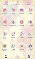 Screenshot of Kimono Flower for[+]HOME
