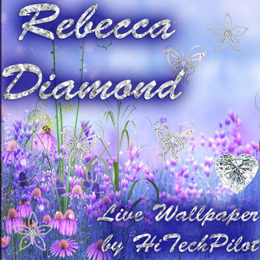 Rebecca Diamond Live Wallpaper 個人化 App LOGO-APP試玩