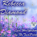 Rebecca Diamond Live Wallpaper icon
