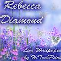 Rebecca Diamond Live Wallpaper icon