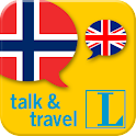 Norwegian talk&travel icon