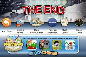 Screenshot of Little Match Girl StoryChimes
