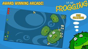 Screenshot of Ice Age Frogging Free