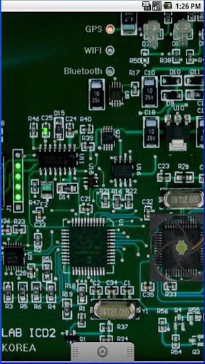 Circuit Board Live wallpaper