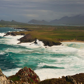 Dingle Peninsula Vista by Peter Andrusyszyn - Landscapes Waterscapes ( photo by pete andrusyszyn, dingle, ireland trip )