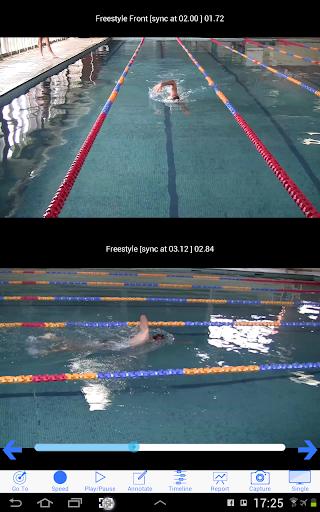 Swim Coach Plus - screenshot