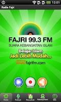 Screenshot of Fajri FM Radio Streaming