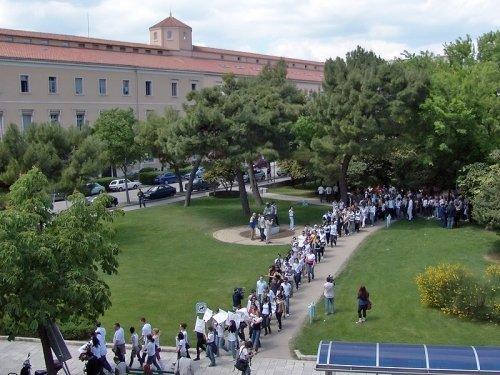 Prosvjedi studenata u Splitu