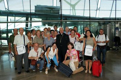 23 de agosto: Salida del aeropuerto de Barajas