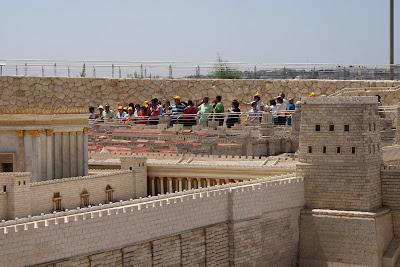 Maqueta de la ciudad de Jerusalén en tiempos de Jesús