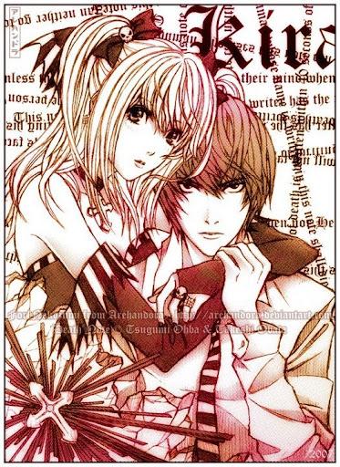 ¿Cual es su personaje de anime favorito? Death_Note_Misa_and_Light