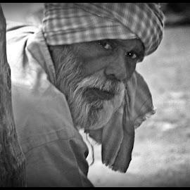 The Vagabond by Prasanta Das - People Portraits of Men ( vagabond, portrait )