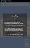 Screenshot of Male' Map