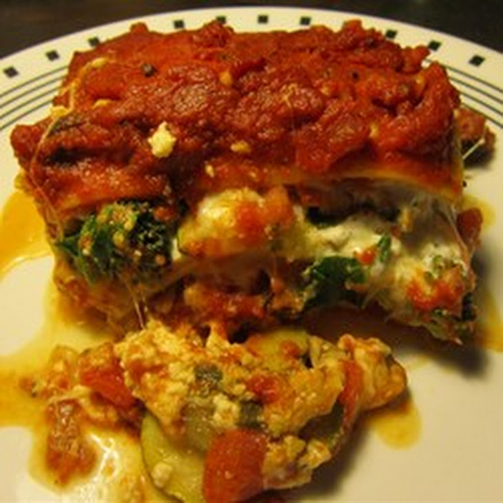 Easy Roasted Vegetable Lasagna Recipe | Yummly