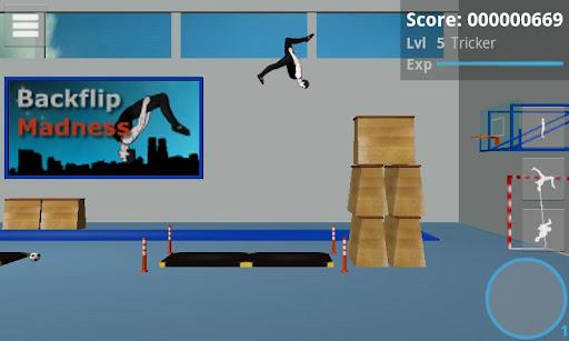 Backflip Mness - screenshot