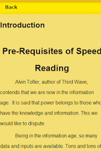 Speed Reading Guide - screenshot