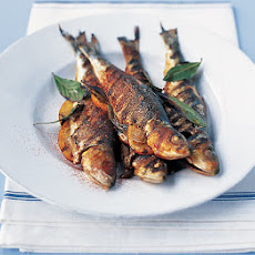Sardines Stuffed With Orange Slices & Bay Leaves