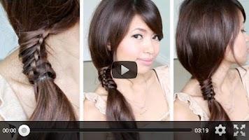 Screenshot of Styles for Medium Hair