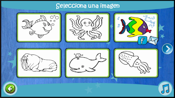 Screenshot of Learn Coloring - Kids Paint