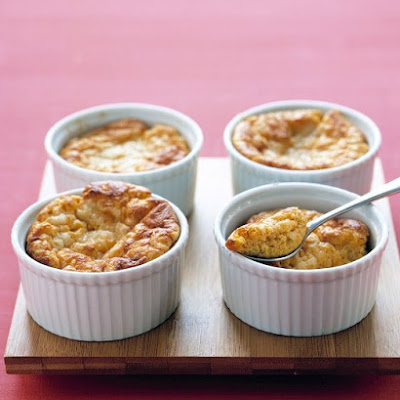 Savory Sweet-Potato Souffles
