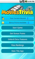 Screenshot of Movies Trivia