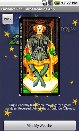 Lavinia's Tarot Reading free
