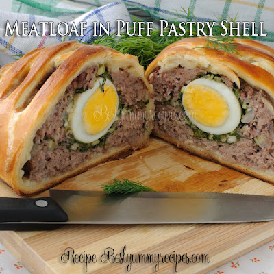 Meatloaf in Puff Pastry Shell