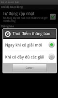 Screenshot of Xổ số miền Bắc - Live xo so