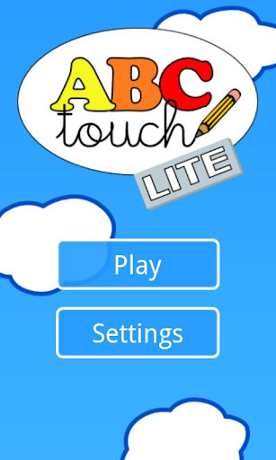 ABC Touch Lite let's write