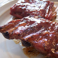 Alternate Honey Barbecue Sauce With Riblets (Applebee's Copycat)