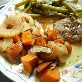 Baked Pork Chops Sweet Potatoes Recipes
