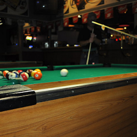 Playing The Game by Tom Wakefield - Sports & Fitness Cue sports (  )