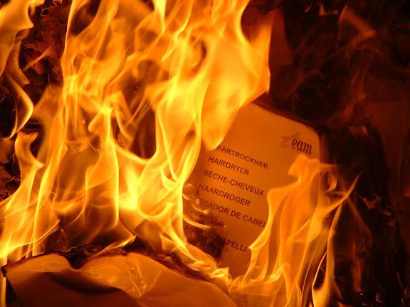 Fotos Gratis Abstracción - Fuego quemando papel