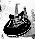 Fotos Gratis Música - Guitarra Negra