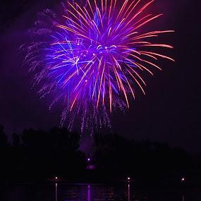 Fireworks2 by Joanne Burke - Public Holidays July 4th