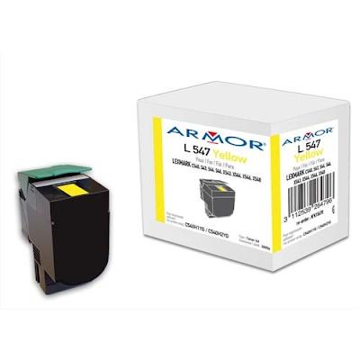 Acheter armor toner compatible lexmark yellow c540h1yg for Papeterie plein ciel