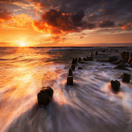 Baltic Dynamic by Pawel Uchorczak - Landscapes Beaches ( dynamic, best, sea, light, baltic )