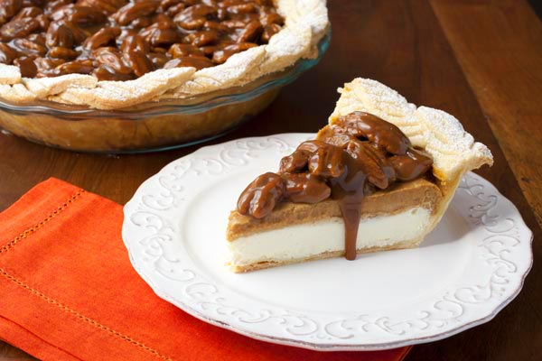 Pumpkin-Pecan Pie With Whiskey Butter Sauce Recipes — Dishmaps