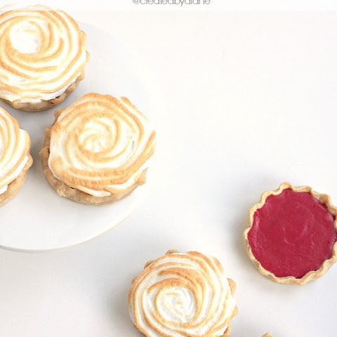 Cranberry Lemon Meringue Pie