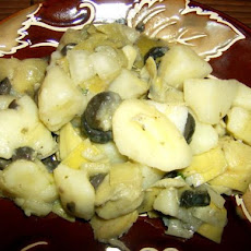 Potato Artichoke Salad
