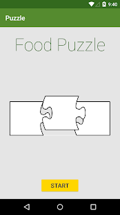 Food Puzzle - screenshot
