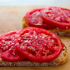Tomatoes on Toast