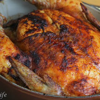Roasted Whole Chicken with Smoked Paprika