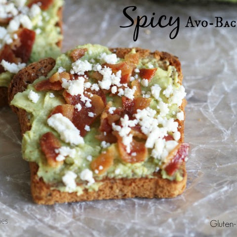 Spicy Avo-Bacon Toast