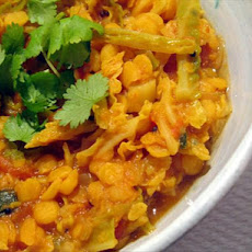 Lentil, Cabbage and Tomato Dal