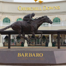 Churchill Downs by Shannon McHale - Buildings & Architecture Statues & Monuments